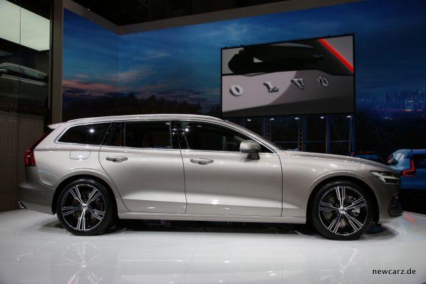 Volvo V60 Seitenansicht