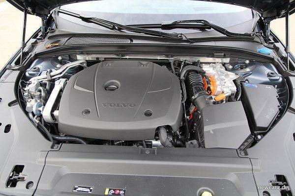 Volvo V90 T8 Twin Engine Motorraum