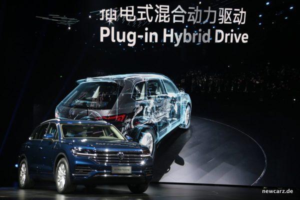 VW Touareg Plug-in Hybrid