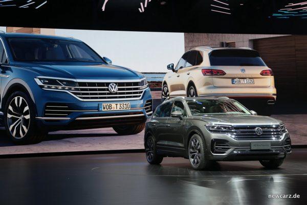 VW Touareg Front Weltpremiere