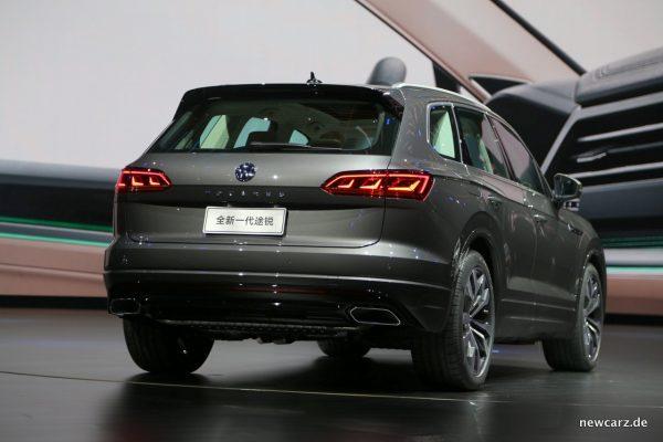 VW Touareg Heck