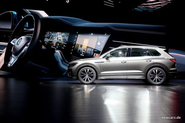 VW Touareg Seite