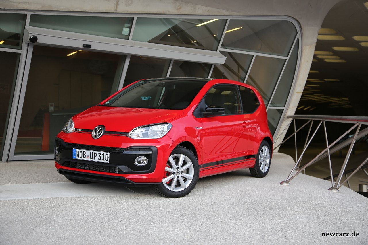 volkswagen up gti up gefahrene cityrakete. Black Bedroom Furniture Sets. Home Design Ideas