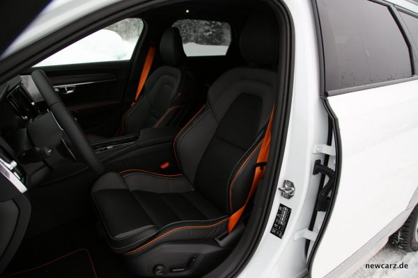 Volvo V90 Cross Country Ocean Race Interieur