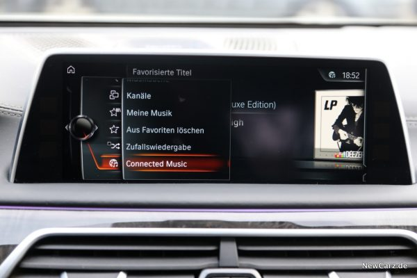 BMW Online Entertainment Connected Music