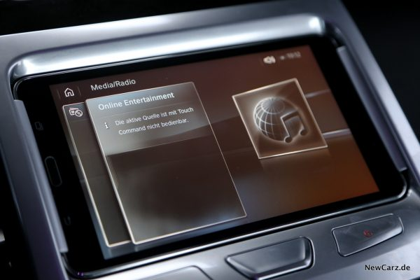 BMW Touch Command Online Entertainment