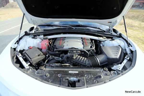 Chevrolet Camaro Cabriolet V8 Motor