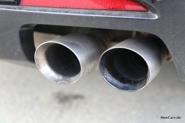 Chevrolet Camaro Cabriolet Pipes V8