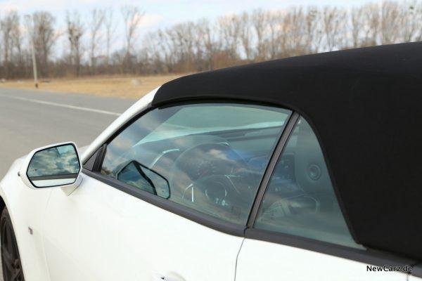 Chevrolet Camaro Cabriolet Dreiecksfenster