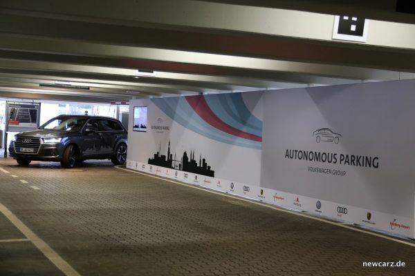 Autonomes Parken Audi