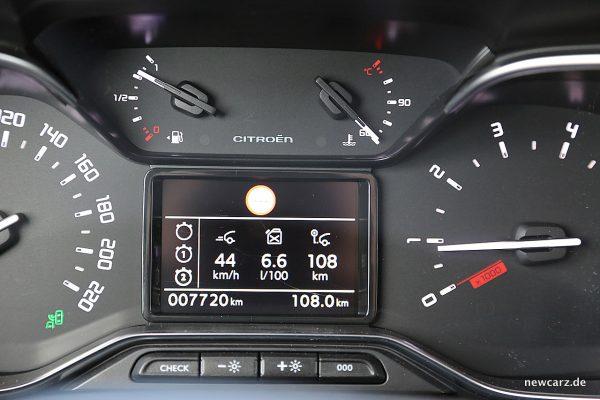 Citroen C3 Aircross Verbrauch