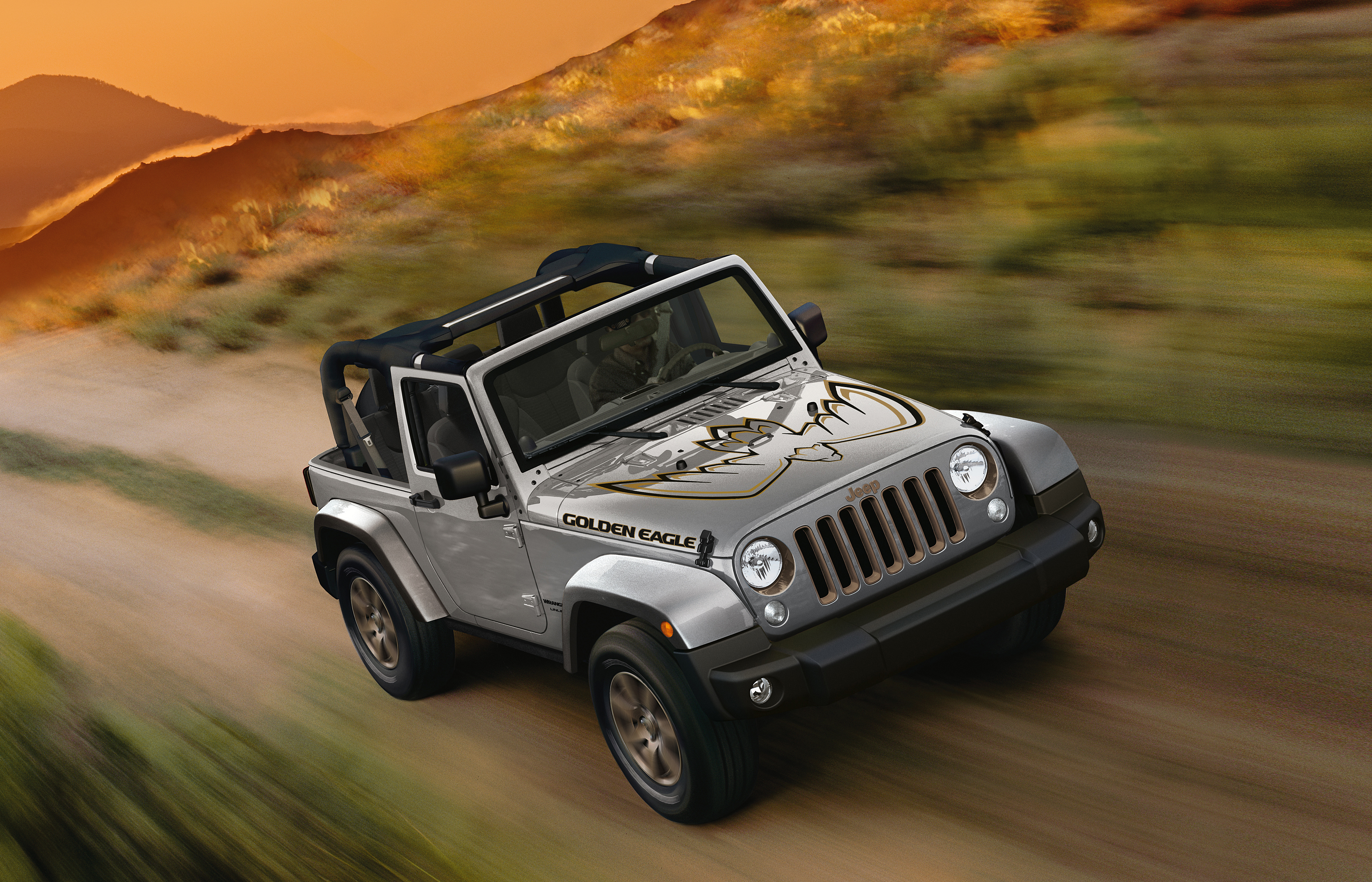 Jeep Wrangler Golden Eagle Exterieur