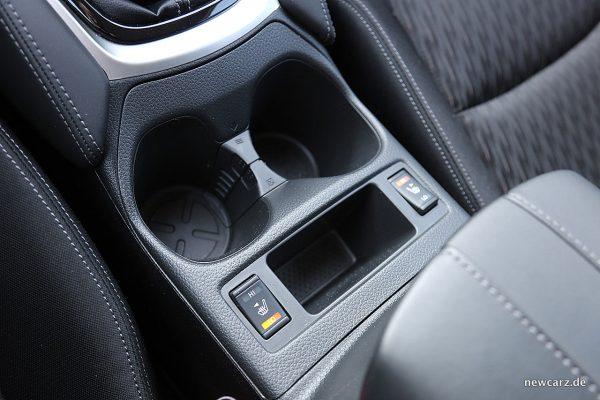 Nissan X-Trail Sitzheizung