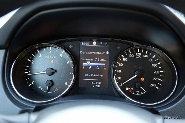Nissan X-Trail Verbrauch