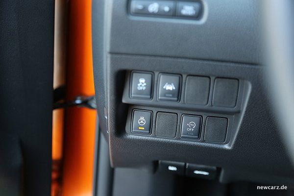 Nissan X-Trail ESP-Schalter