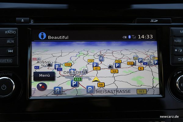 Nissan X-Trail Touchscreen