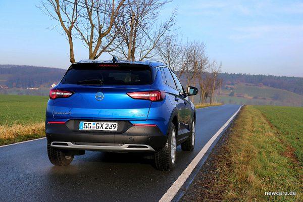 Opel Grandland X Heck