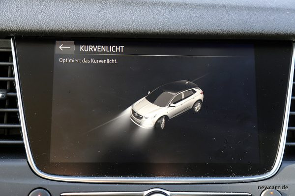 Opel Grandland X Kurvenlicht