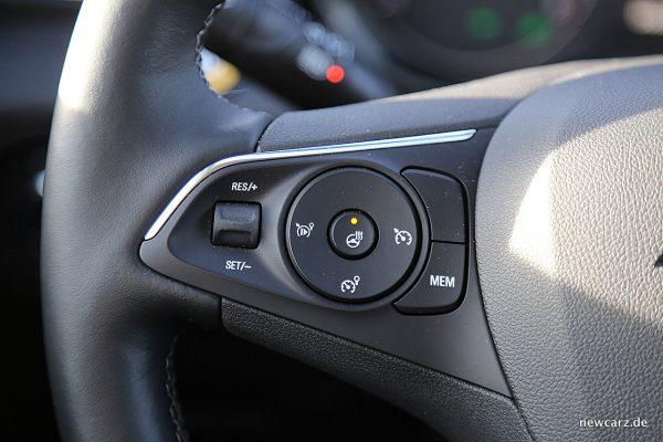 Opel Grandland X Lenkradheizung