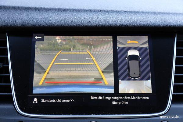 Opel Grandland X Rückfahrkamera