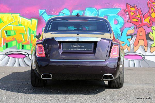Rolls-Royce Phantom Heck