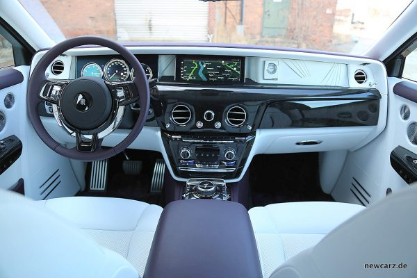 Rolls-Royce Phantom Instrumententafel