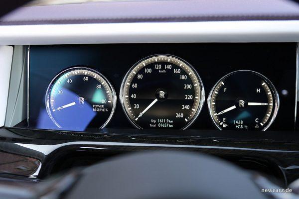 Rolls-Royce Phantom Cockpit