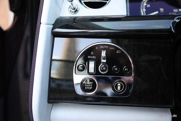 Rolls-Royce Phantom Startknopf