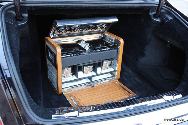 Rolls-Royce Phantom Picknickkoffer Zubehör