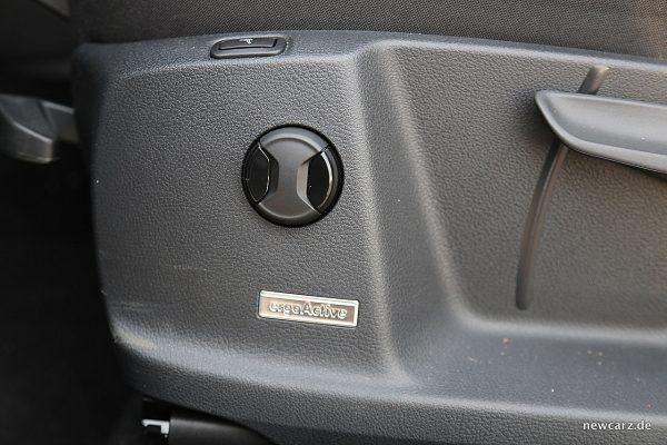VW Golf Sportsvan Fahrersitz