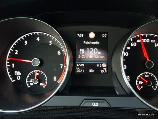 VW Golf Sportsvan Zylinderabschaltung