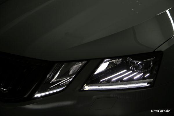 Skoda Octavia RS245 Scheinwerfer