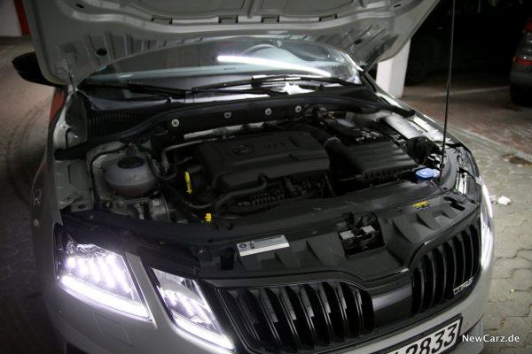 Skoda Octavia RS245 Motor