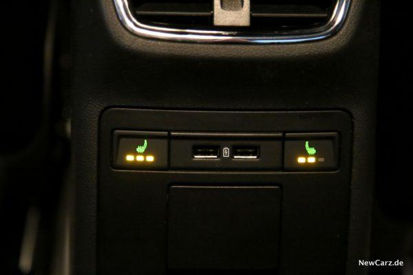 Skoda Octavia RS245 Sitzheizung hinten