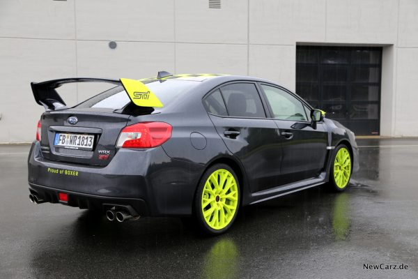 Subaru WRX STI Heck