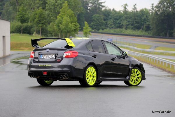 Subaru WRX STI Heck Seite