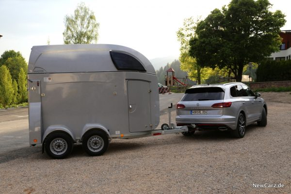 VW Touareg Trailer Assist