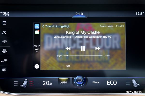 VW Touareg Apple CarPlay