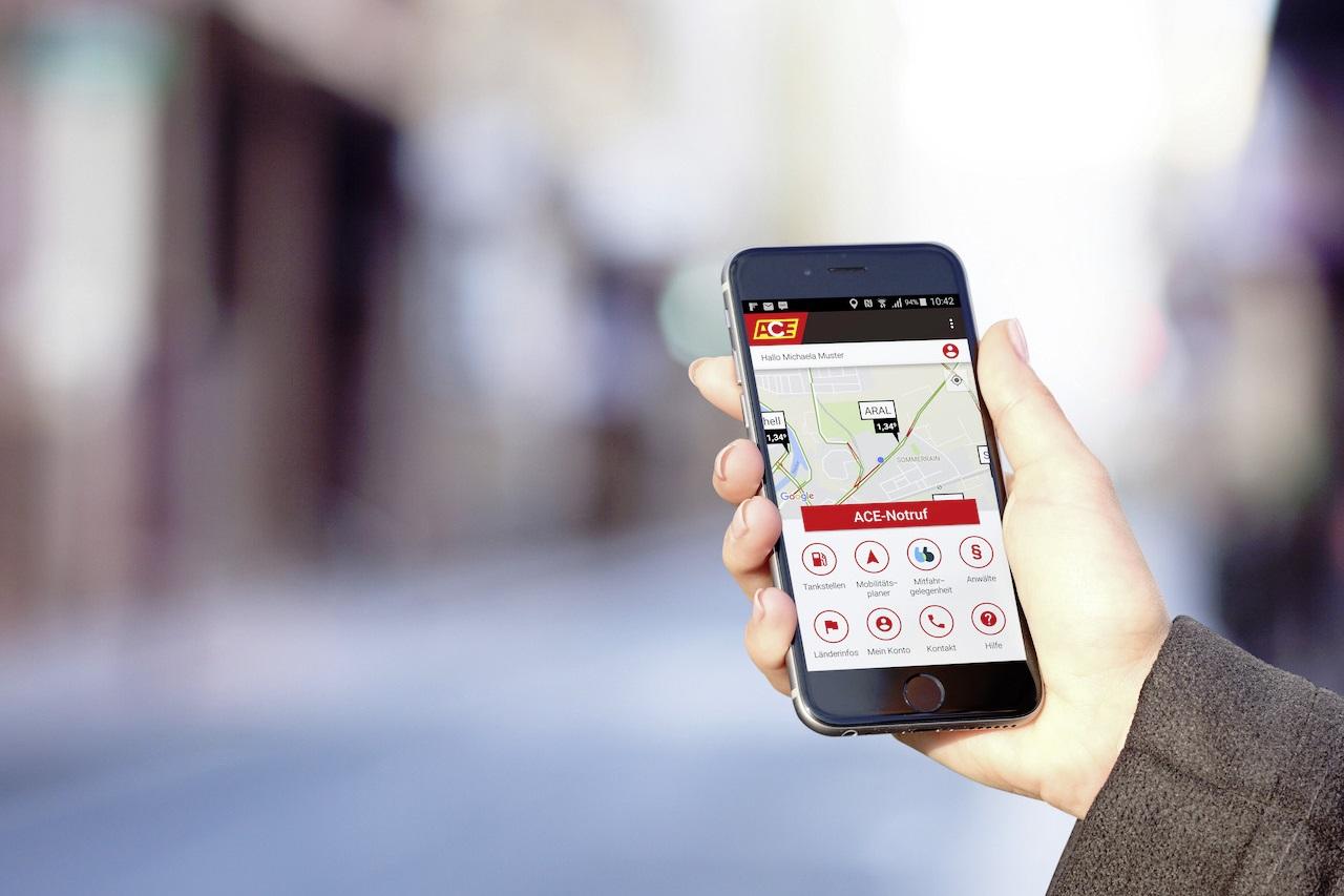 NewCarz ACE Auto CLub Europa App