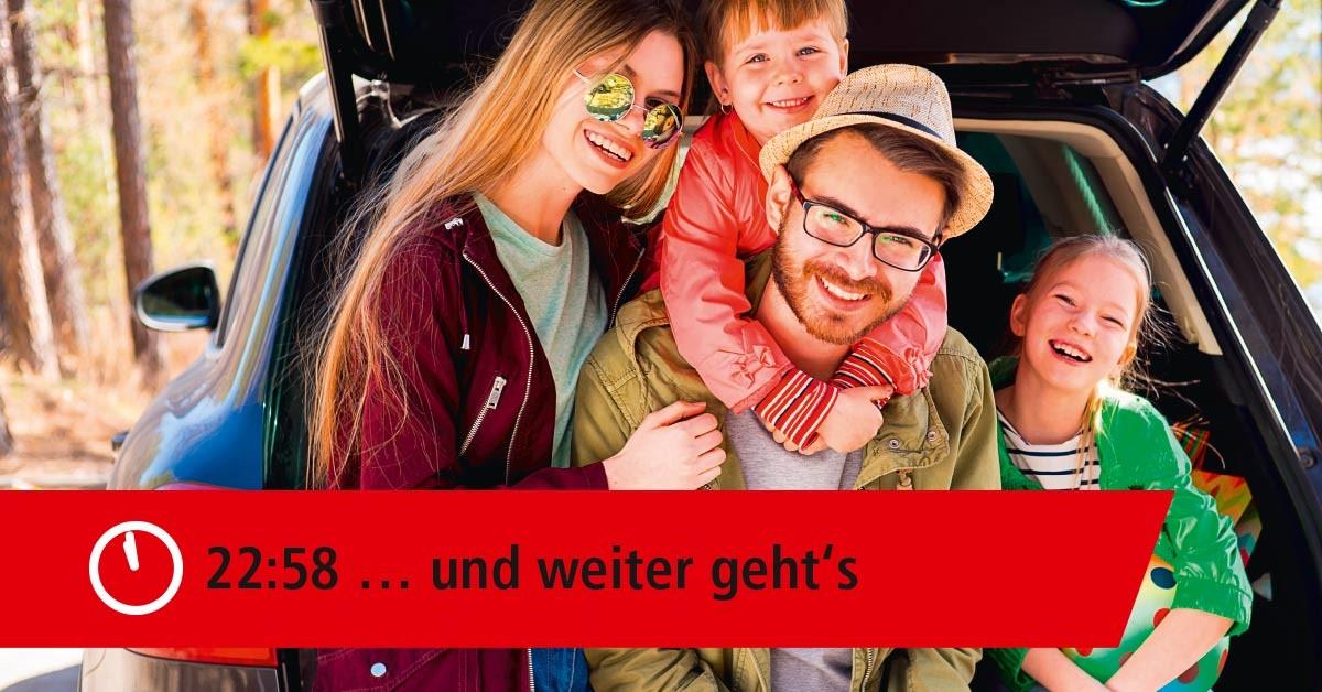NewCarz ACE Auto Club Europa Familienreise
