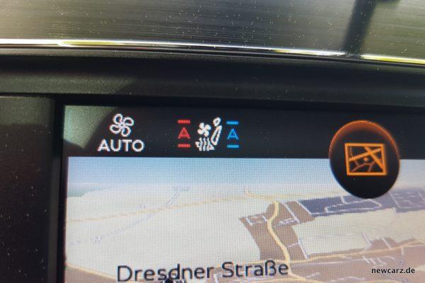 Bentley Bentayga Diesel Sitzklimatisierung
