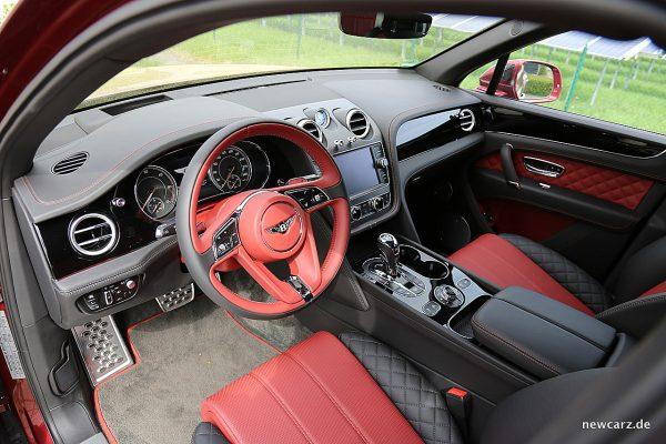 Bentley Bentayga Diesel Interieur