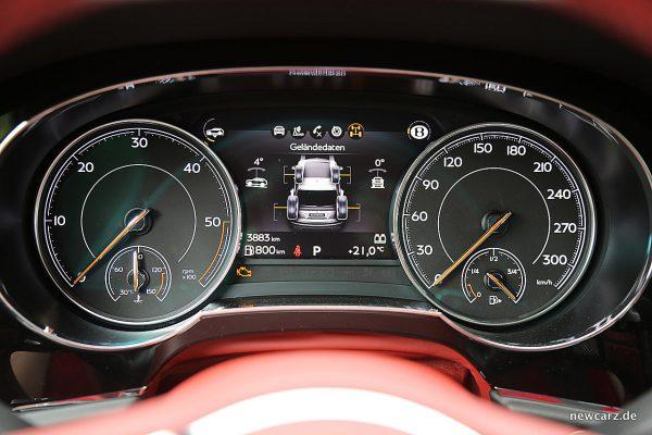 Bentley Bentayga Diesel Cockpit