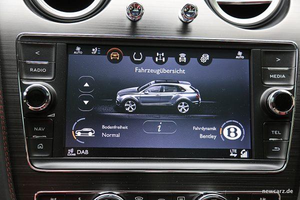 Bentley Bentayga Diesel Fahrmodi