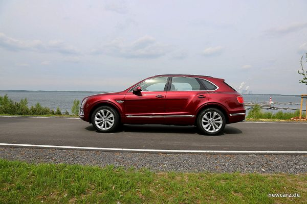 Bentley Bentayga Diesel Seitenansicht