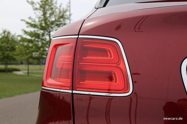 Bentley Bentayga Diesel Heckleuchte
