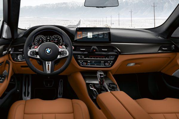 BMW M5 Competition Interieur