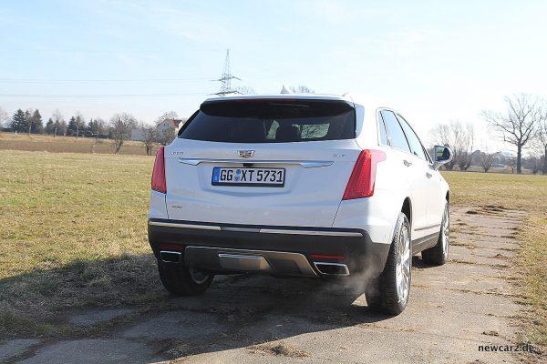 Cadillac XT5 Heck