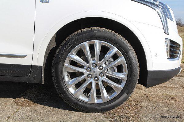 Cadillac XT5 Vorderrad