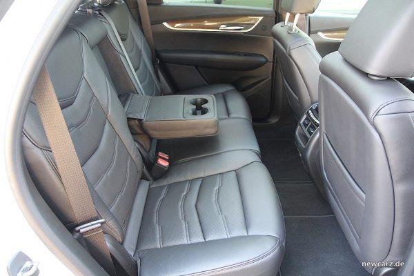 Cadillac XT5 Rücksitzbank